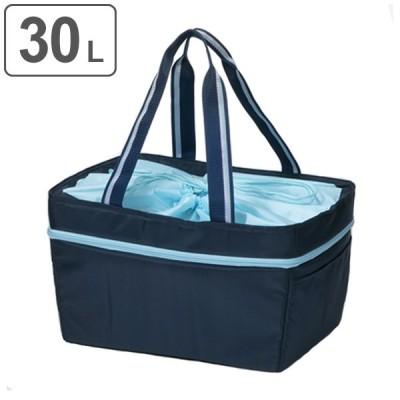 エコバッグ 保冷機能付き 30L レジカゴタイプ 伸縮式 クールショッピングバッグ ( レジカゴバック レジカゴ型 ショッピングバッグ )