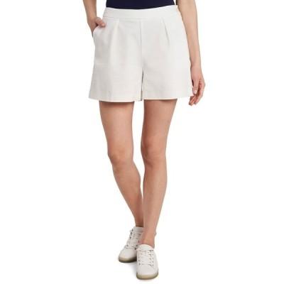ライリー レイ カジュアルパンツ ボトムス レディース Rose Double Weave Shorts, Created for Macy's Soft Ecru