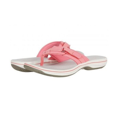 Clarks クラークス レディース 女性用 シューズ 靴 サンダル Breeze Sea - Bright Pink Synthetic