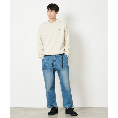 GRAMICCI / WILDTHINGS / 【GRAMICCI/グラミチ】DENIM LOOSE TAPERED PANTS MEN パンツ > デニムパンツ