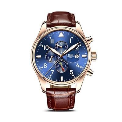 (新品) WhatsWatch Watches Men 2016 Carnival Army Watches Leather Sport Military Men Wristwatch Brown Automatic Mechanical