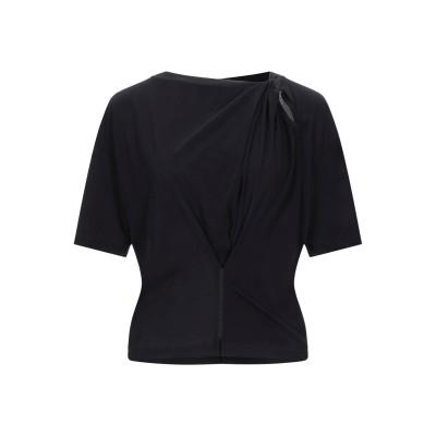 UNRAVELAU T シャツ ブラック S コットン 100% T シャツ