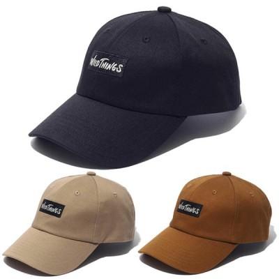 WILD THINGS ワイルドシングス WT 6PANEL CAP 6パネルキャップ ユニセックス 2020年春夏 キャップ 帽子 アウトドア キャンプ WT20054U