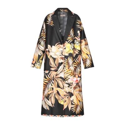 BLACK CORAL コート ブラック 38 ポリエステル 80% / レーヨン 18% / ポリウレタン 2% コート