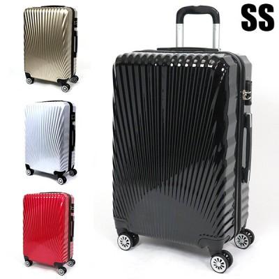 スーツケース キャリーバッグ キャリーケース 機内持ち込み SSサイズ 28L コインロッカー対応 TSAロック付 4輪 ダブルキャスター  ###ケース227-SS###