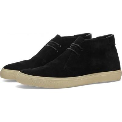 イヴ サンローラン Saint Laurent メンズ ブーツ シューズ・靴 Ace Suede Desert Boot Black