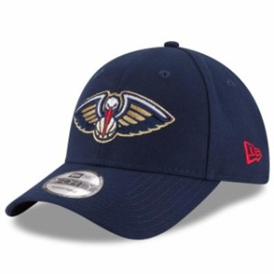 New Era ニュー エラ スポーツ用品  New Era New Orleans Pelicans Navy Official Team Color 9FORTY Adjustable Hat