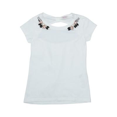 FRACOMINA MINI T シャツ ホワイト 8 コットン 96% / ポリウレタン 4% T シャツ