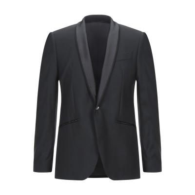 JAVIER テーラードジャケット ブラック 50 ポリエステル 100% / スワロフスキー テーラードジャケット