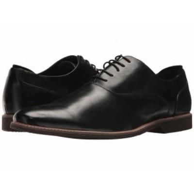 Steve Madden スティーブマデン メンズ 男性用 シューズ 靴 オックスフォード 紳士靴 通勤靴 Nunan Black【送料無料】
