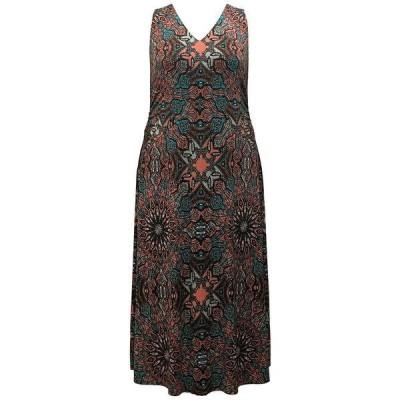 アイエヌシーインターナショナルコンセプト ワンピース トップス レディース INC Plus Size Printed Maxi Dress, Created for Macy's Scarf Waltz