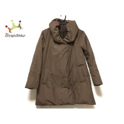 レジーナリスレ Regina Risurre ダウンジャケット サイズ40 M レディース ブラウン 冬物  値下げ 20200506