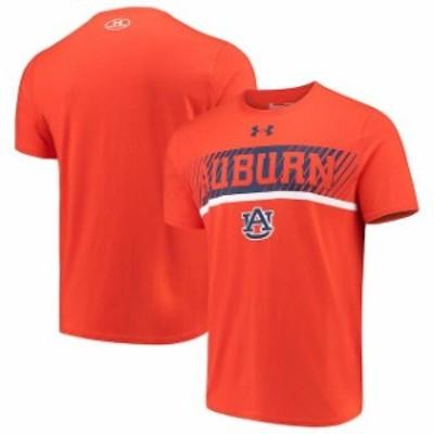 Under Armour アンダー アーマー スポーツ用品  Under Armour Auburn Tigers Orange Off-Shore Deco Tri-Blend T-Shirt