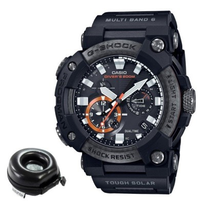 (丸型時計ケース付)カシオ CASIO 腕時計 GWF-A1000XC-1AJF Gショック G-SHOCK フロッグマン MASTER OF G メンズ Bluetooth搭載 電波ソーラー(国内正規品)