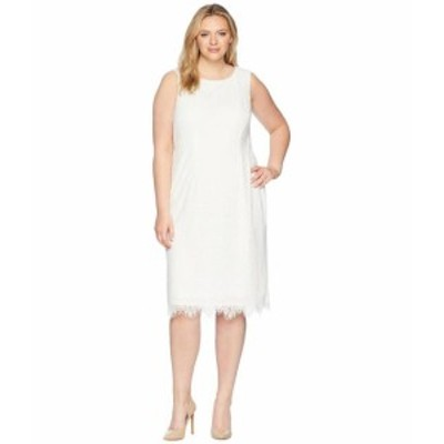 Adrianna Papell アドリアナパぺル ドレス 一般 Plus Size Scarlett Lace Midi Sheath