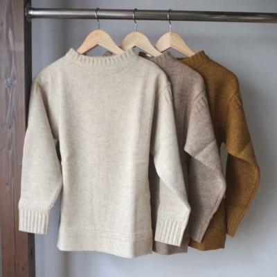 【定価22,000円】 Tieasy x Island Knit Works ティージー x アイランドニットワークス Fisherman's Sweater フィッシャーマンズセーター 3 colors