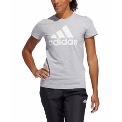 アディダス レディース シャツ トップス Women's Cotton Badge of Sport T-Shirt Mgh/white
