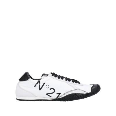ヌメロ ヴェントゥーノ N°21 スニーカー&テニスシューズ(ローカット) ホワイト 40 紡績繊維 / 革 スニーカー&テニスシューズ(ローカット)