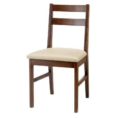 天然木チェア2 ブラウン いす 椅子 イス