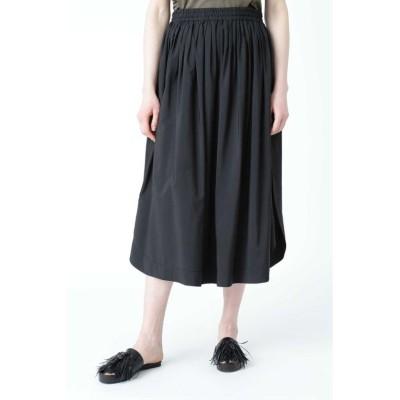 【アドーア】 モダールエステルスカート レディース ブラック 38 ADORE
