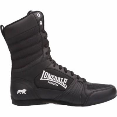 ロンズデール Lonsdale メンズ シューズ・靴 Contender Boxing Boots Black/White