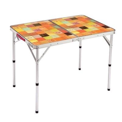 コールマンCOLEMAN ナチュラルモザイク リビングテーブル/90プラス 2000026752 キャンプ用品 ファミリーテーブル セール