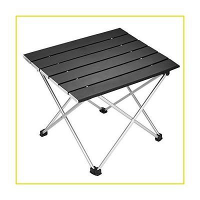 送料無料 ポータブルキャンプ Souyos ポータブルキャンピングテーブル アルミ折りたたみテーブル キャリ