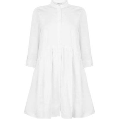 オンリー Only レディース パーティードレス ワンピース・ドレス shirt dress White