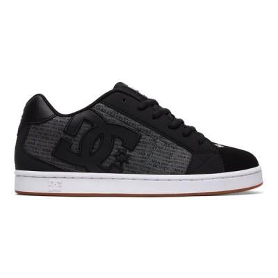 カジュアルシューズ ディーシーシューズ DC Shoes Net SE Shoes 302297 HEATHER BLACK