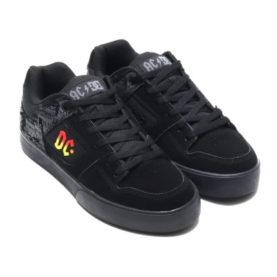 ディーシーシューズ DC SHOES PURE AC/DC (BLACK)