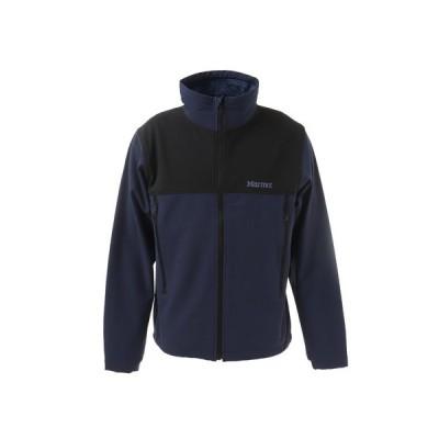 マーモット(Marmot) 中綿 ジャケット アウター ウォームソフトシェルテックジャケット TOUQJK12 DIBK (メンズ)