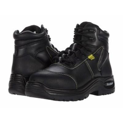 """リーボック レディース ブーツ・レインブーツ シューズ Trainex 6"""" Sport Boot with Flex-Met Internal Met Guard Black"""