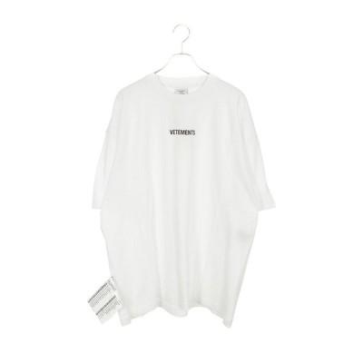 ヴェトモン VETEMENTS 19AW UAH20TR611 フロントロゴパッチTシャツ OM10  中古