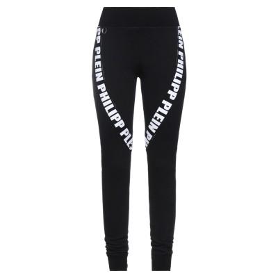 PHILIPP PLEIN パンツ ブラック S コットン 100% / ポリエステル / ポリウレタン® パンツ