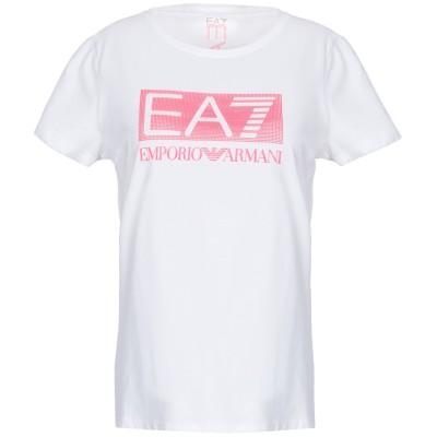 EA7 T シャツ ホワイト M コットン 95% / ポリウレタン 5% T シャツ