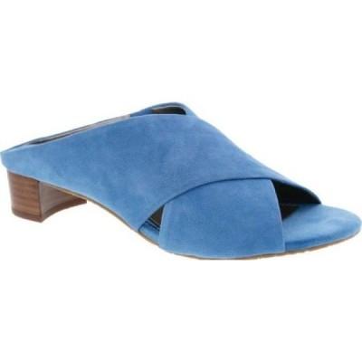 ロスホマーソン Ros Hommerson レディース サンダル・ミュール シューズ・靴 Va Va Voom Slide Blue Suede