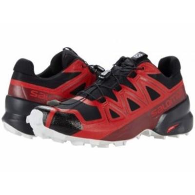 Salomon サロモン メンズ 男性用 シューズ 靴 スニーカー 運動靴 Speedcross 5 Goji Berry/White/Black【送料無料】