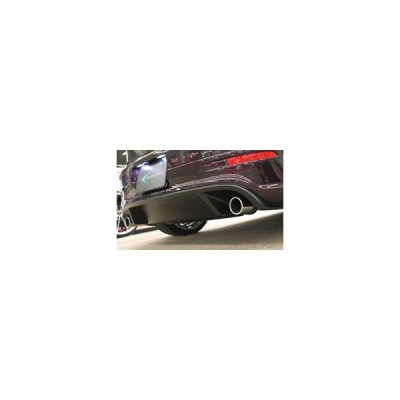GOLF V スタディルック リアアンダースポイラー FRP黒ゲル+デフューザー部カーボン