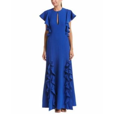 Ruffle  ファッション ドレス Sachin + Babi Noir Womens Sachin & Babi Noir Ruffle Gown 2