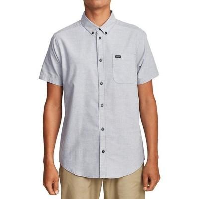 ルーカ メンズ シャツ トップス That'll Do Short-Sleeve Slim-Fit Stretch Woven Shirt