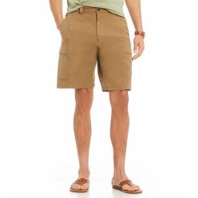 トッミーバハマ メンズ ハーフパンツ・ショーツ ボトムス Key Isles Cargo 10#double; Inseam Shorts British Bourbon