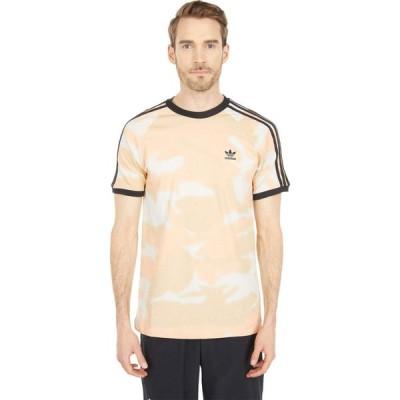 アディダス adidas Originals メンズ Tシャツ トップス Camo 3-Stripes Tee Alumina/Multicolor/Black