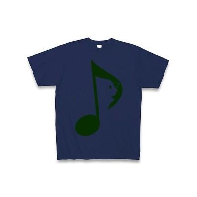 歌う音符G Tシャツ(ジャパンブルー)