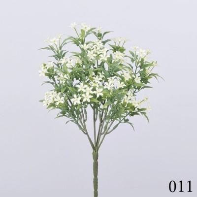 《 造花 グリーン 》◆とりよせ品◆Asca(アスカ) スノーローズブッシュ クリ-ムホワイト