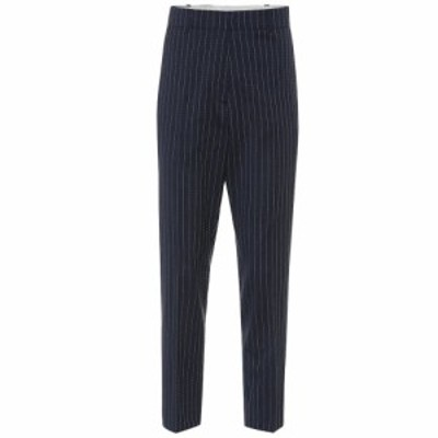 ラシル Racil レディース ボトムス・パンツ Aries striped stretch wool pants Ocean Stripe/White