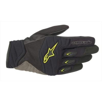 alpinestars(アルパインスターズ) バイクグローブ ブラック/イエローフロー (サイズ:L) SHORE(ショアー) グローブ 1
