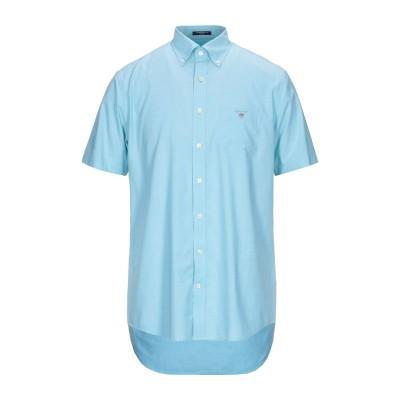 ガント GANT シャツ ライトグリーン 39 コットン 100% シャツ