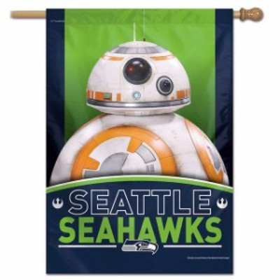 WinCraft ウィンクラフト スポーツ用品  WinCraft Seattle Seahawks 28 x 40 Star Wars Single-Sided House Banner