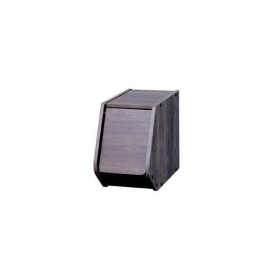 スタックボックス扉付き ブラウン STB−200D