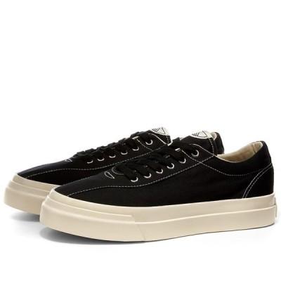 エス ダブリュー シー Stepney Workers Club レディース スニーカー シューズ・靴 dellow canvas sneaker w Black